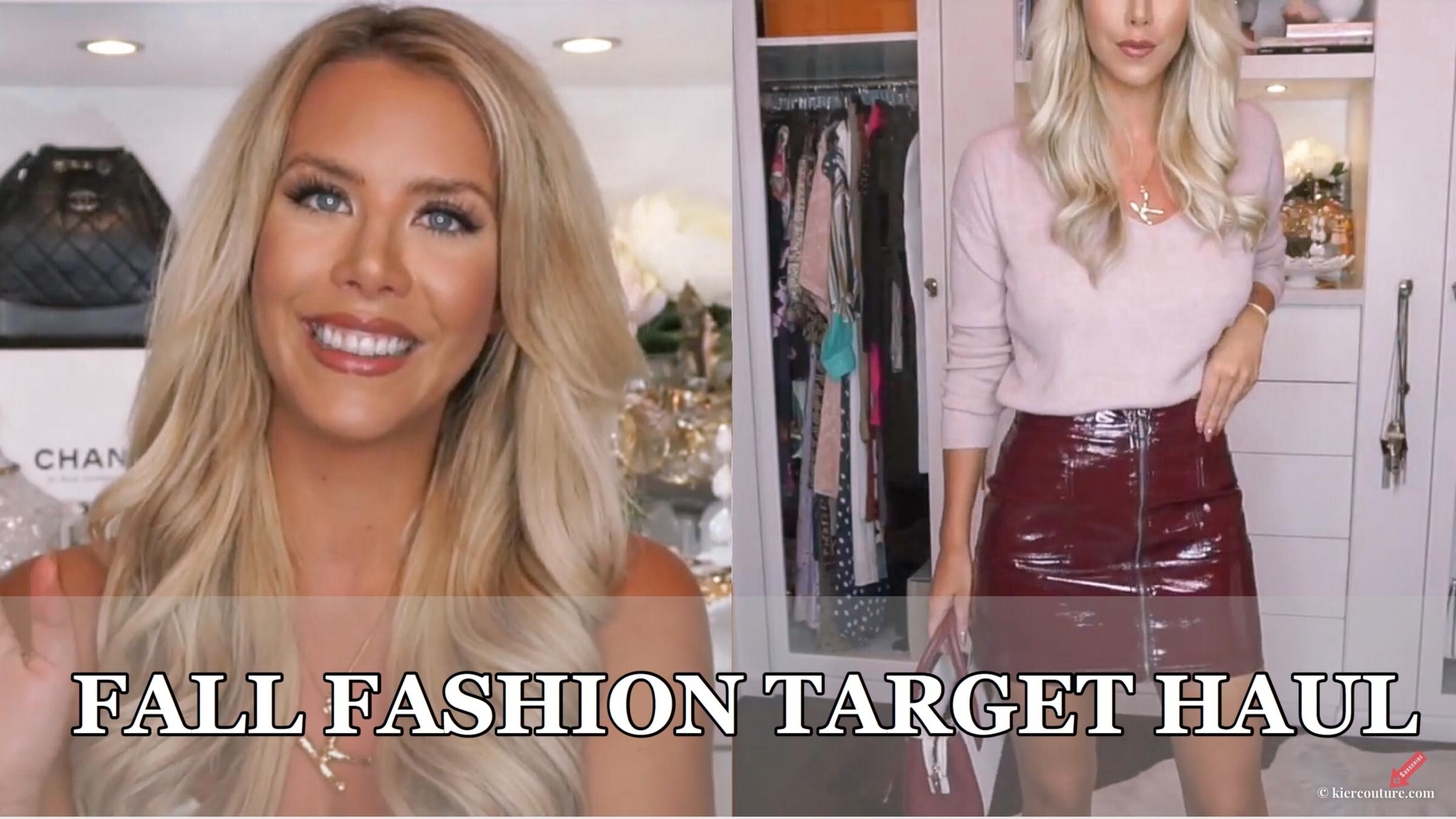 fall 2018 fashion target haul