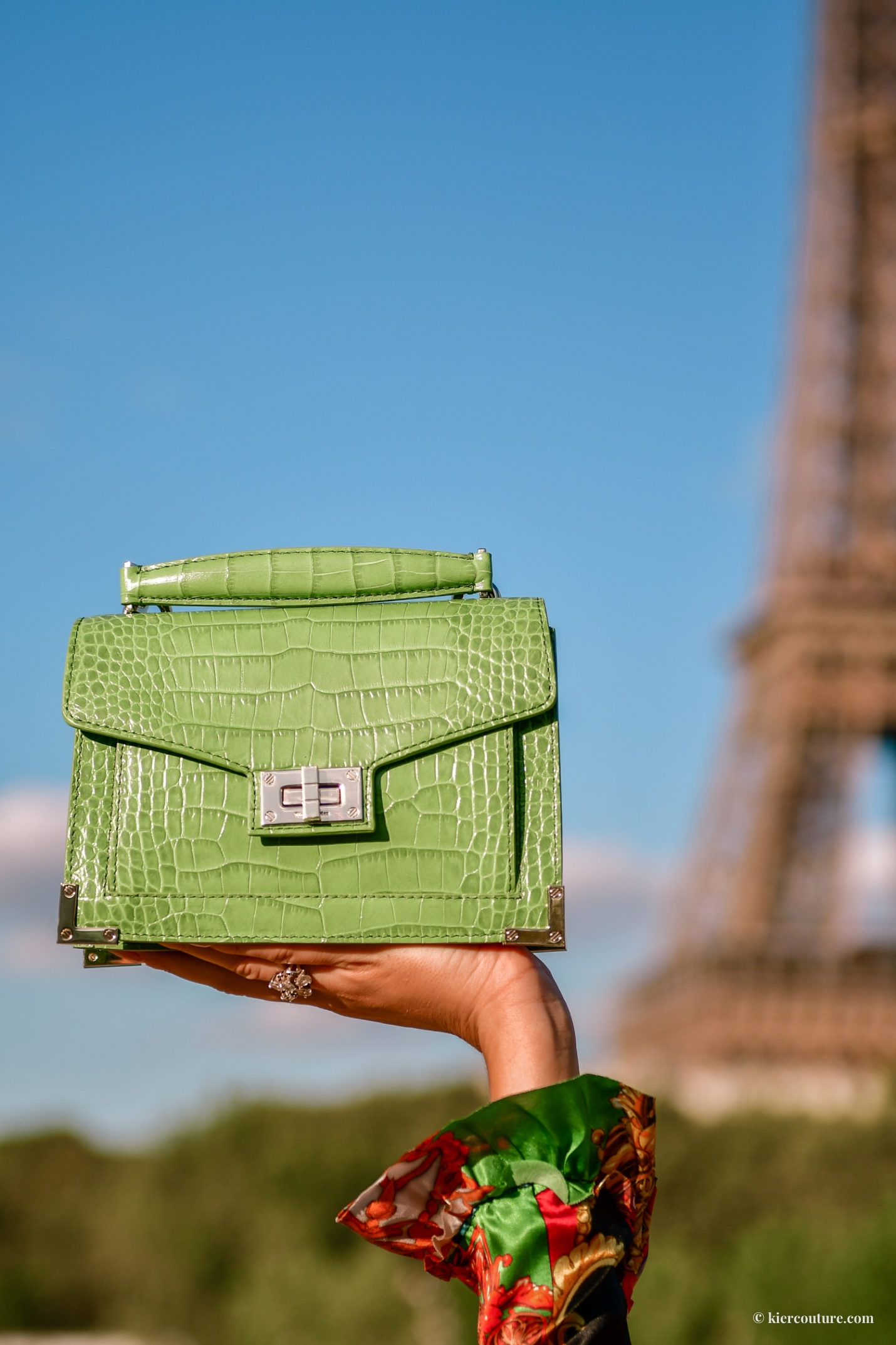 The Kooples Emily bag in green