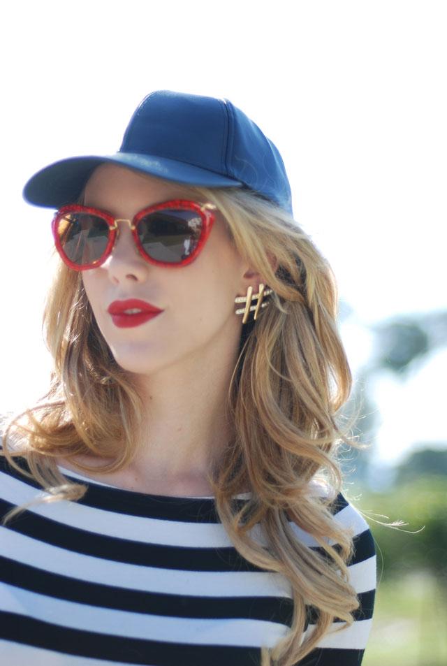Glitter Miu Miu Sunglasses