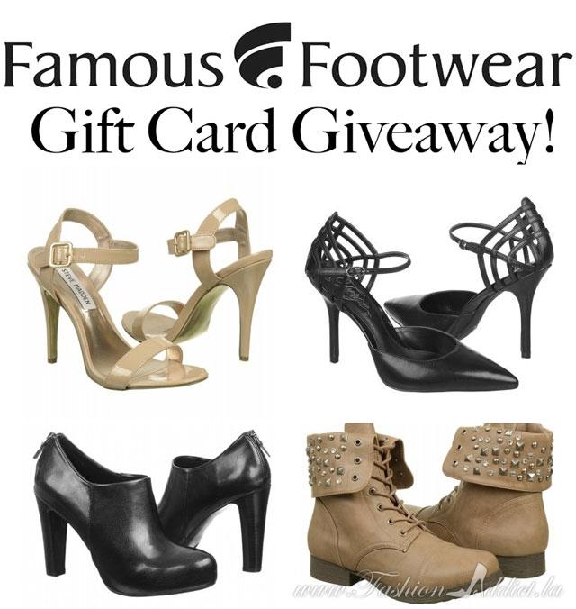 Famous Footwear Giveaway!